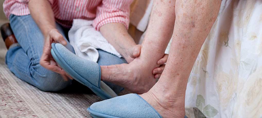 Обучение родственников уходу за больным